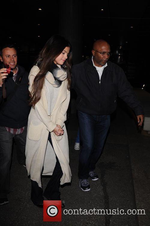 Selena Gomez At LAX