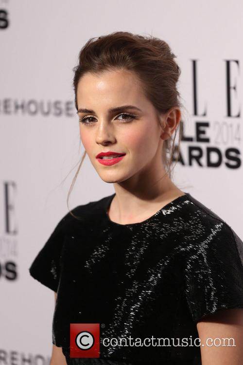Emma Watson At Elle Awards