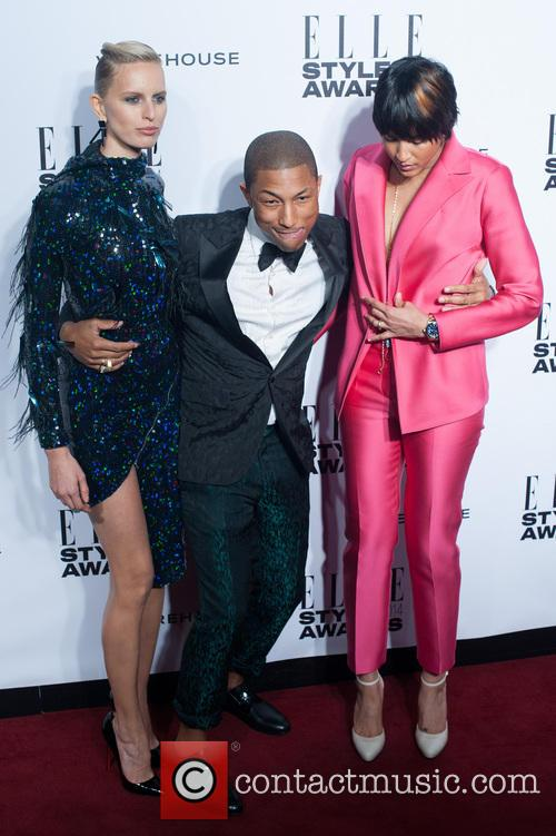 Karolina, Kurkova, Pharrell Williams and Helen Lasichanh 7