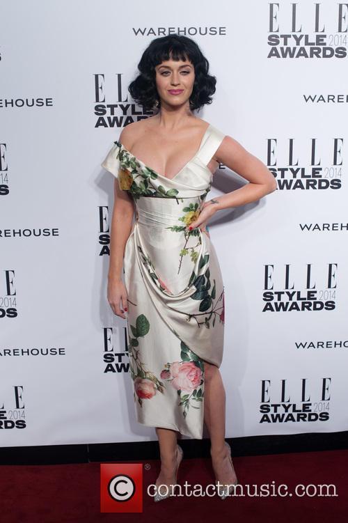 Katy Perry Elle Style