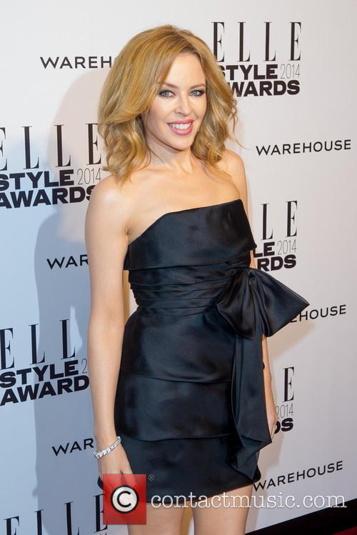 Kylie Minogue Elle Style Awards