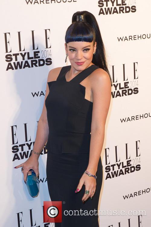 Lily Allen at Elle Style Awards