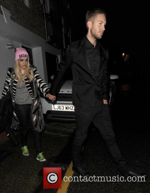 Rita Ora and Calvin Harris 3
