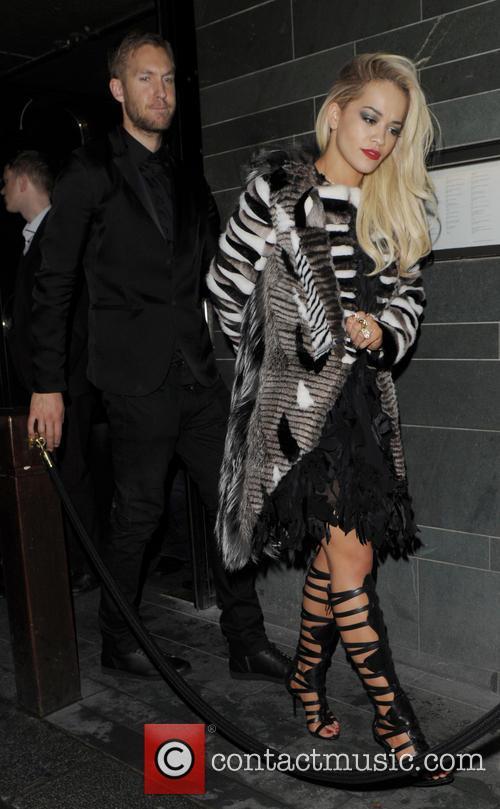 Rita Ora and Calvin Harris 2