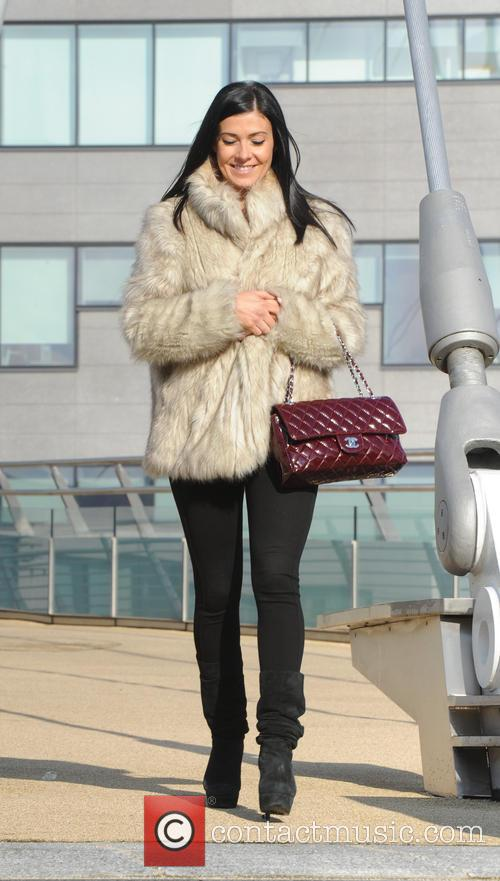 Kym Marsh at Media City