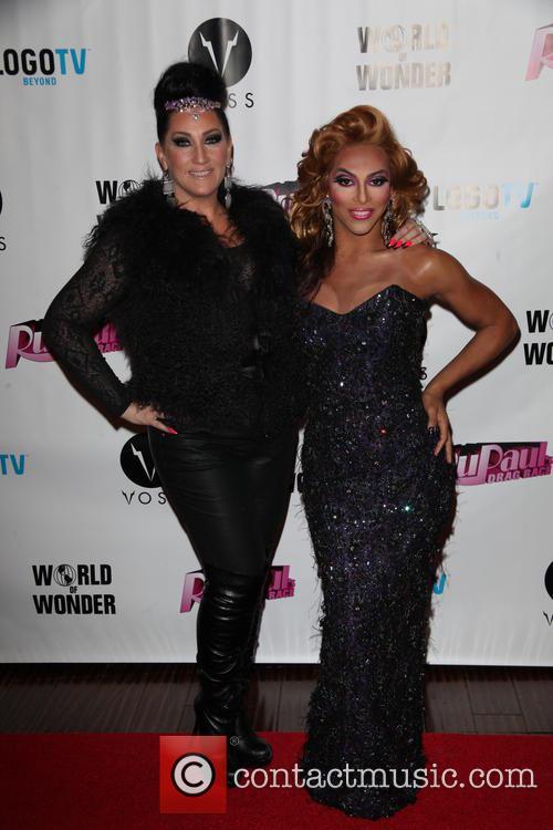Michelle Visage and Shangela 2