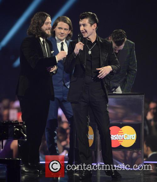 Arctic Monkeys, the O2, The Brit Awards