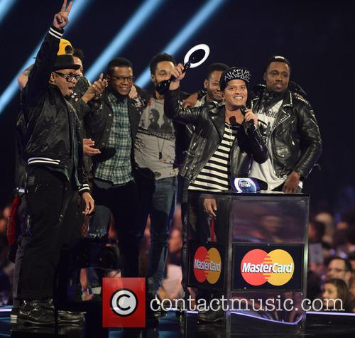 Bruno Mars, the O2, The Brit Awards