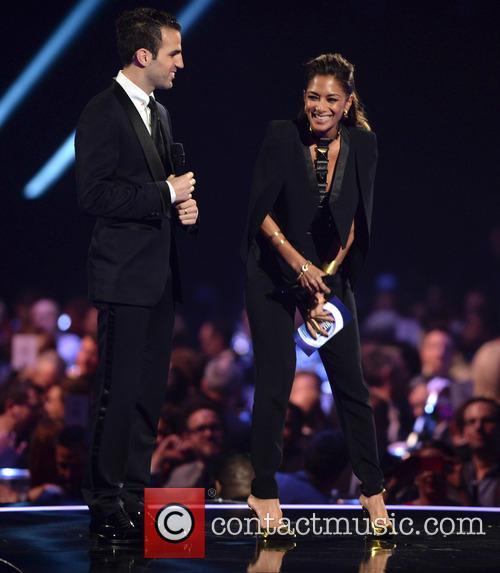 Cesc Fabregas and Nicole Scherzinger 2