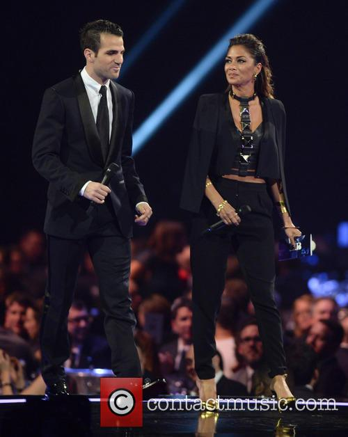 Cesc Fabregas and Nicole Scherzinger 1