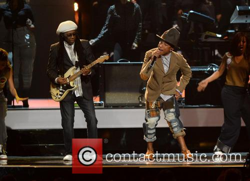 Nile Rodgers and Pharrell Williams 1