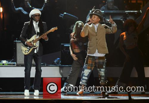 Nile Rodgers and Pharrell Williams 2
