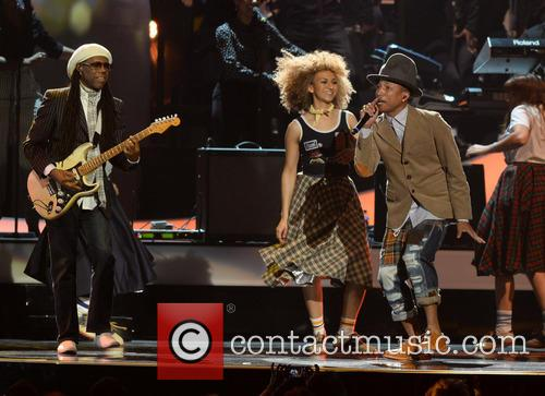 Nile Rodgers and Pharrell Williams 4