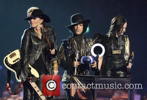 Prince and his band 3rd Eye Girl