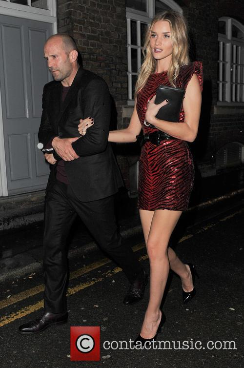 Jason Statham, Rosie Huntington-Whiteley, Brit Awards