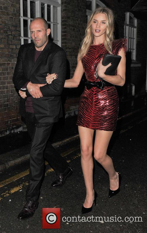 Jason Statham and Rosie Huntington-whiteley 7