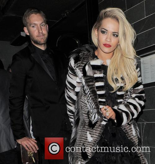 Rita Ora and Calvin Harris 2