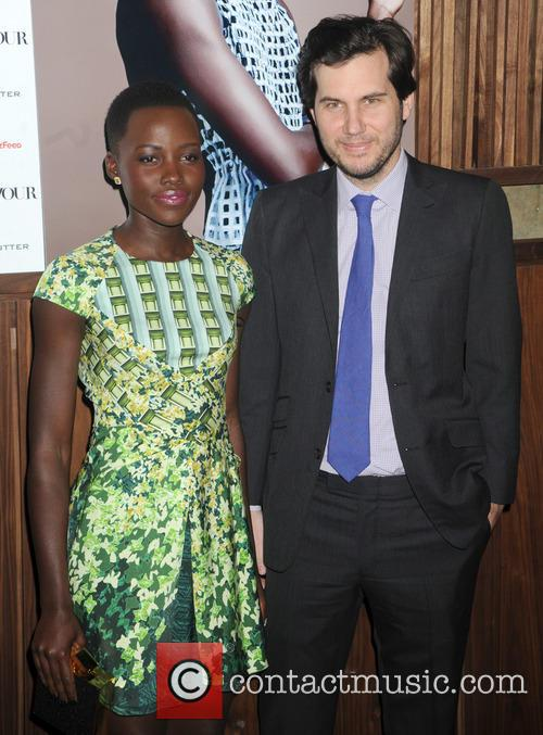 Lupita Nyong'o and Scott Sartiano