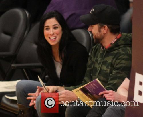 Sarah Silverman and Jason Sudeikis 4