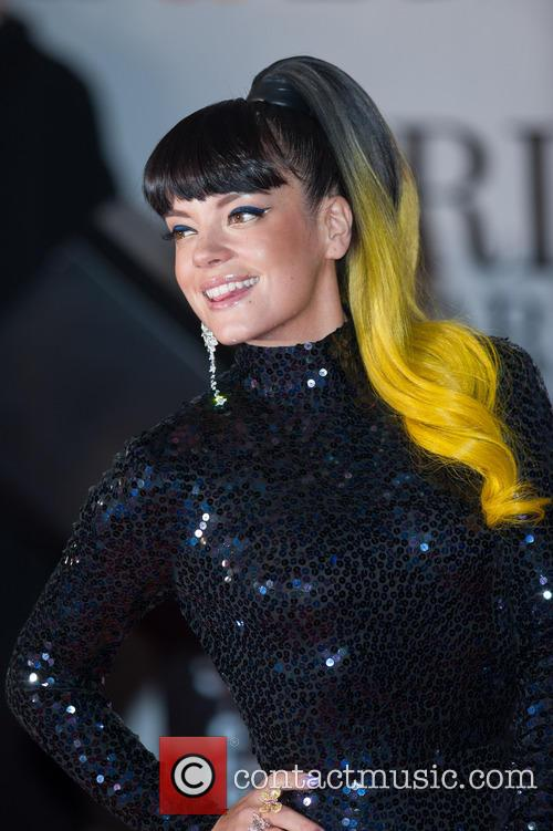 lily allen lily cooper the brit awards brits 4077356
