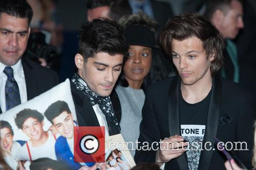 One Direction, Zayn Malik and Louis Tomlinson 8