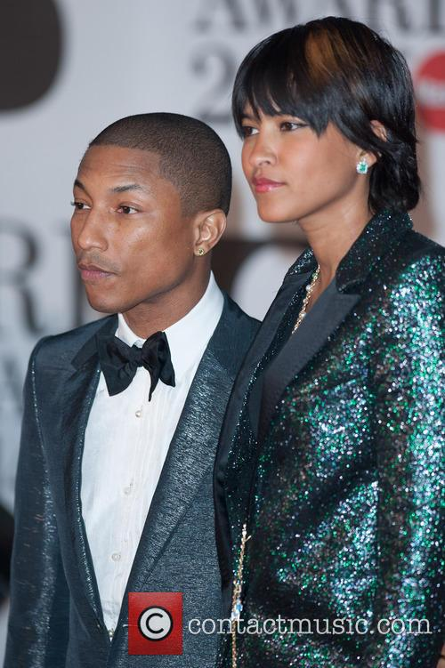 Pharrell Williams and Helen Lasichanh 6