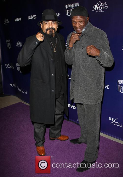 Ruben Guerrero and Floyd Mayweather Jr 2