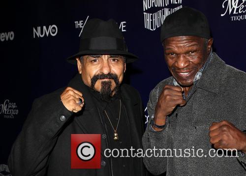 Ruben Guerrero and Floyd Mayweather Jr 1