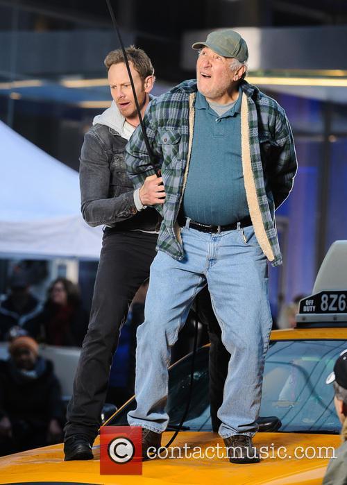 Ian Ziering and Judd Hirsch 8