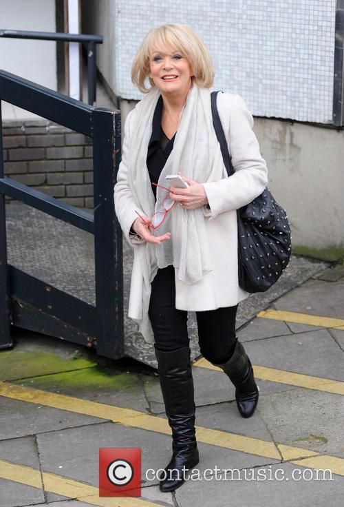 Sherrie Hewson at the ITV studios