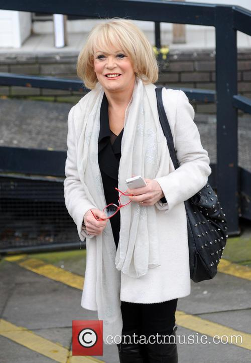 Sherrie Hewson at the ITV studios
