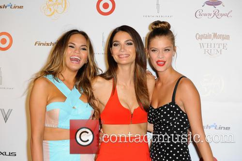 Models Chrissy Teigen, Lily Aldridge and Nina Agdal 7