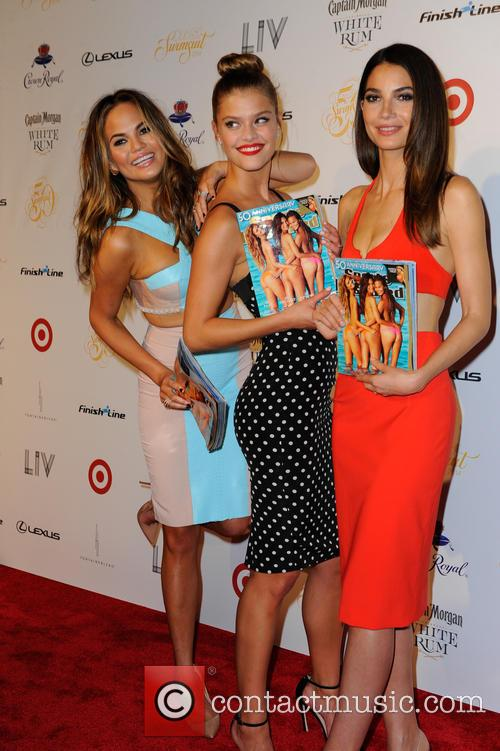 Chrissy Teigen, Lily Aldridge and And Nina Agdal 1