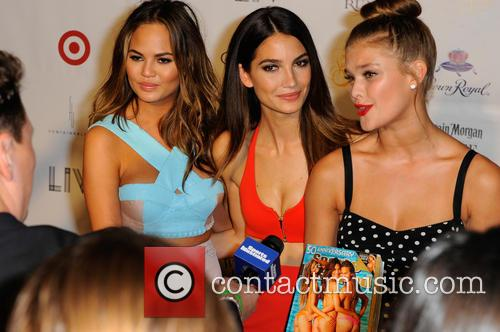 Chrissy Teigen, Lily Aldridge and And Nina Agdal 7