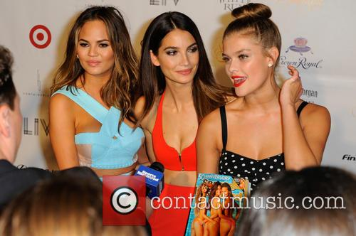 Chrissy Teigen, Lily Aldridge and and Nina Agdal 8
