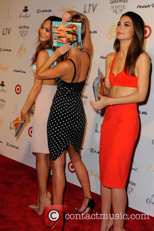 Chrissy Teigen, Lily Aldridge and and Nina Agdal 13