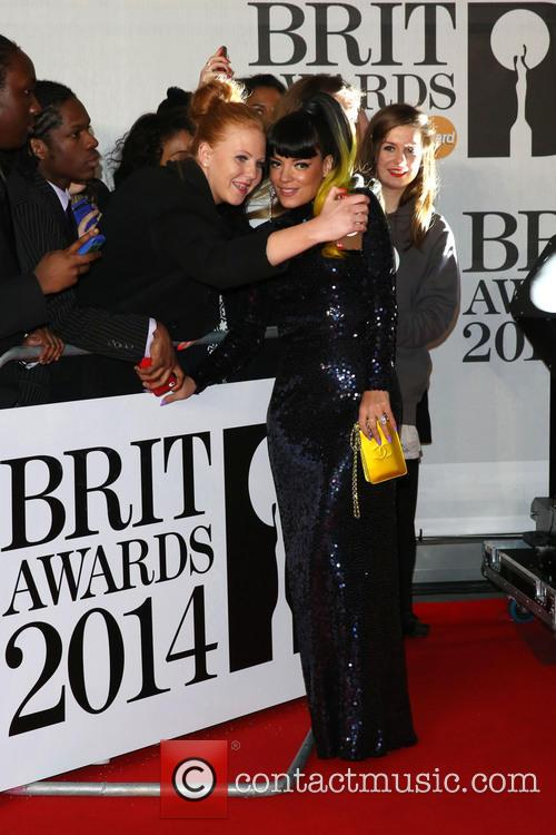 lily allen the brit awards brits 2014 4076717