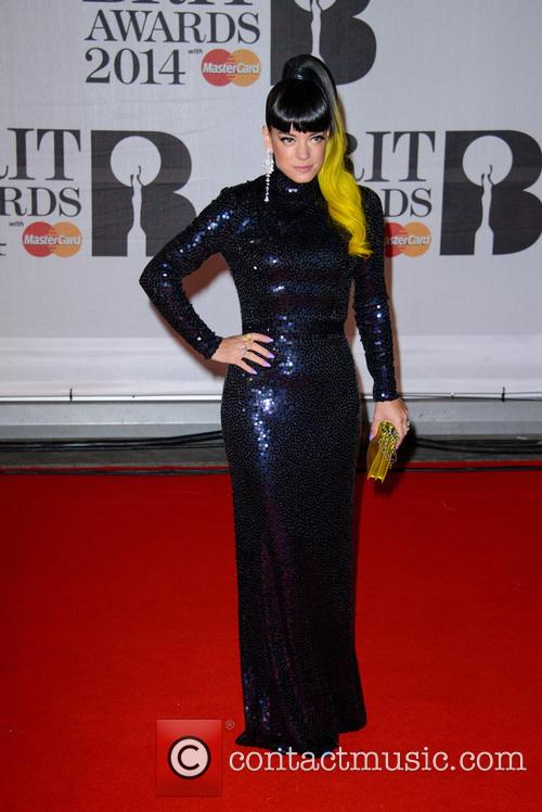 lily allen the brit awards brits 2014 4077028