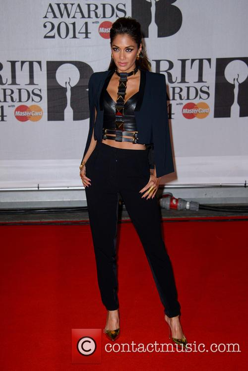 nicole scherzinger the brit awards brits 2014 4076958