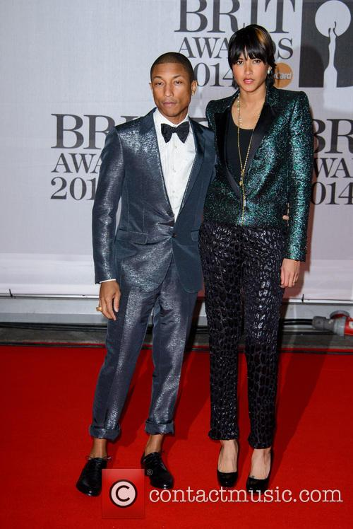 Pharrell Williams and Helen Lasichanh 4
