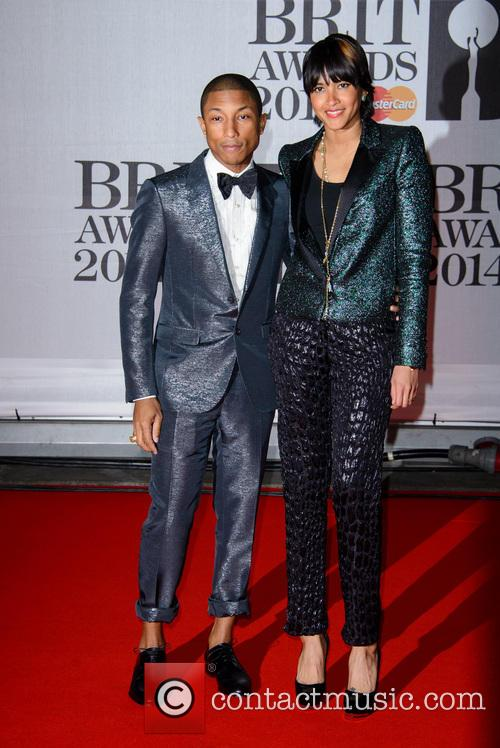 Pharrell Williams and Helen Lasichanh 1