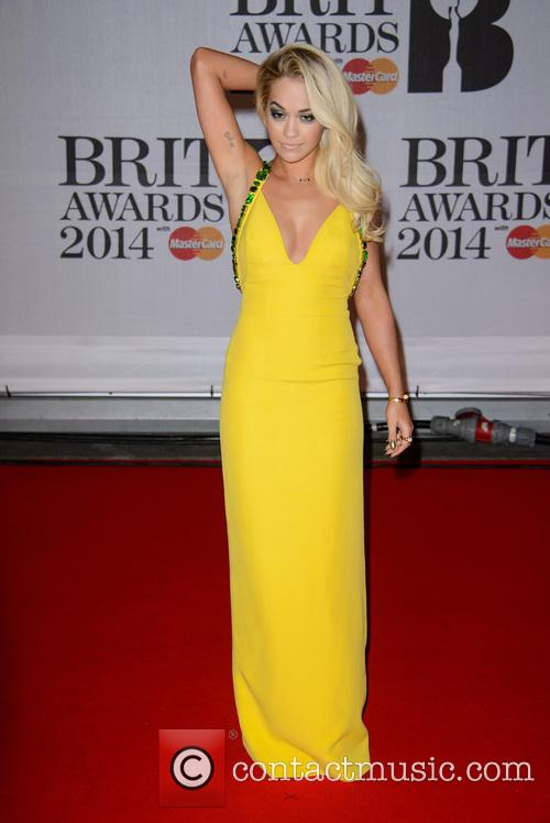 Rita Ora at the Brit Awards
