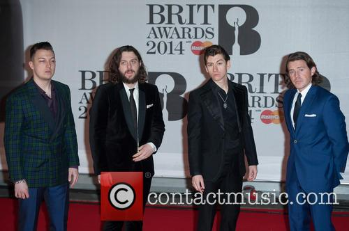 Arctic Monkeys, Alex Turner, Jamie Cook, Nick O'Malley, Matt Helders, Brit Awards