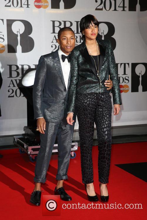 Helen Lasichanh and Pharrell Williams 2