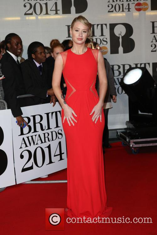 Iggy Azalea at the Brit Awards