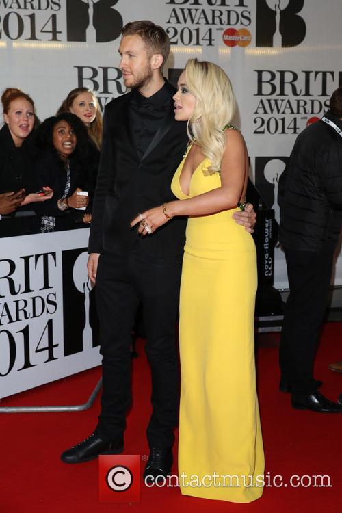 Rita Ora and Calvin Harris 4
