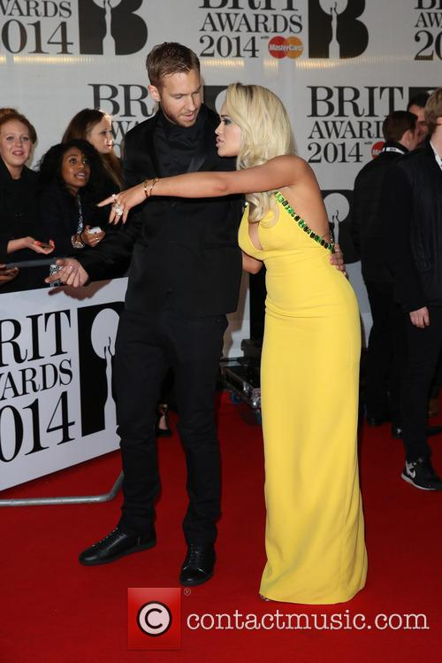 rita ora calvin harris the brit awards brits 4077191