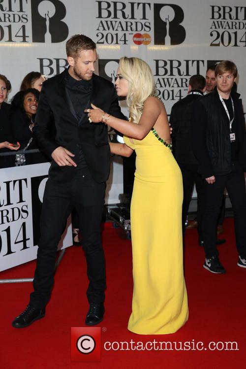 Rita Ora and Calvin Harris 6