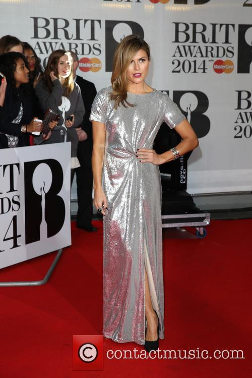 zoe hardman the brit awards brits 2014 4077236
