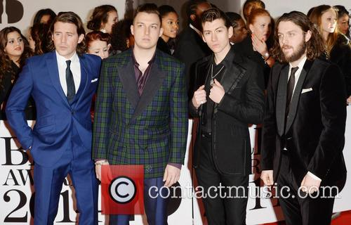 Arctic Monkeys at the Brit Awards